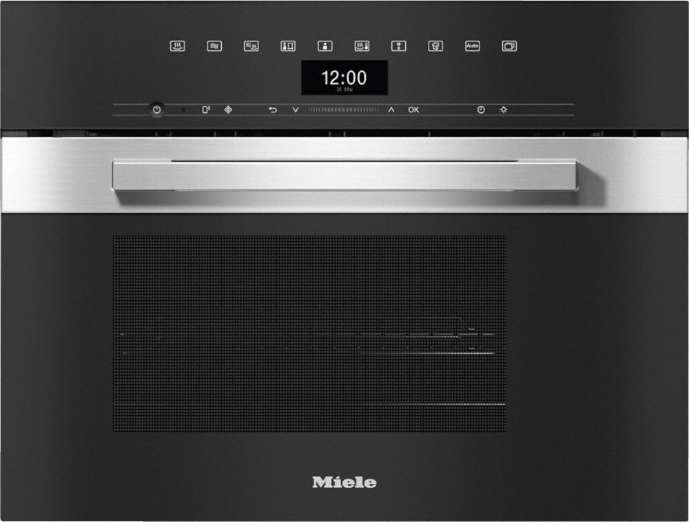 Miele PureLine DGM7440 CleanSteel Steam Oven