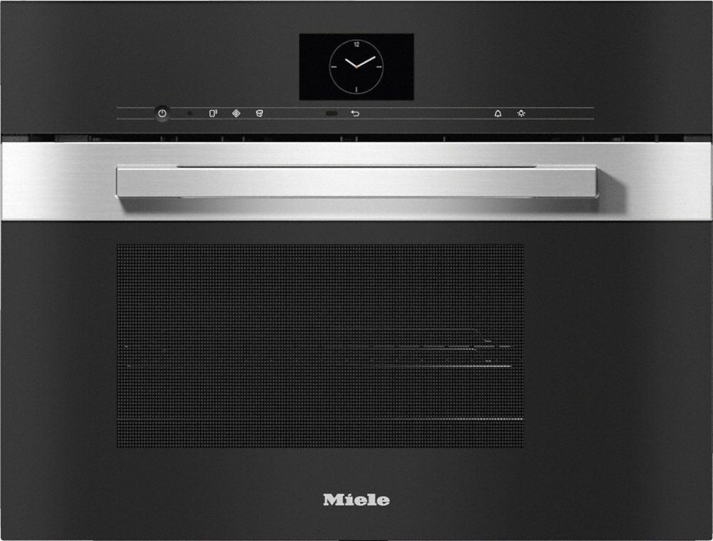 Miele PureLine DGM7640 CleanSteel Steam Oven with Microwave