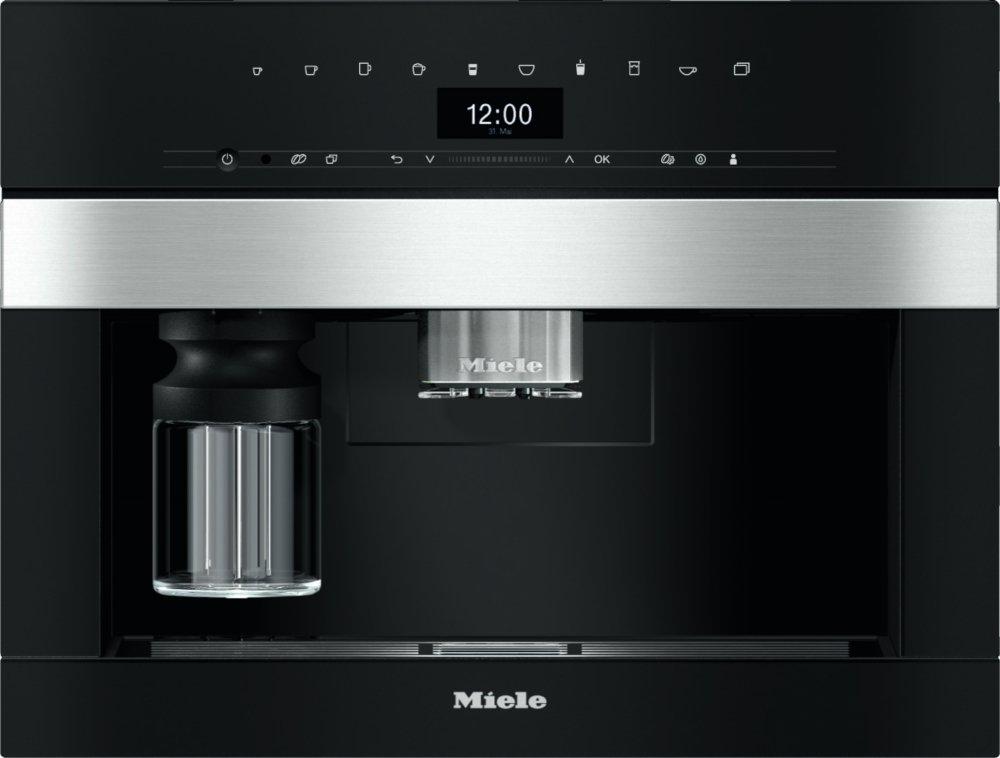 Miele PureLine CVA7445 CleanSteel Built In Coffee Machine