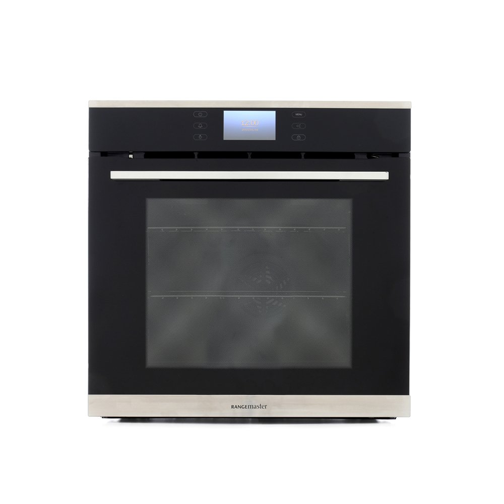 Rangemaster RMB610PBL/SS Stainless Steel Single Built In Electric Oven