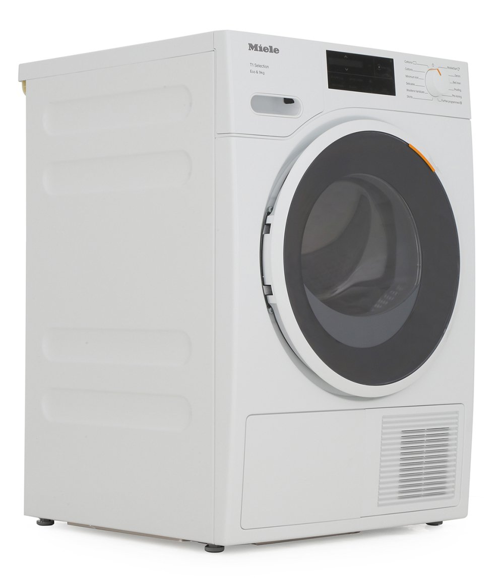 Miele TSJ663 WP Lotus White Condenser Dryer with Heat Pump Technology