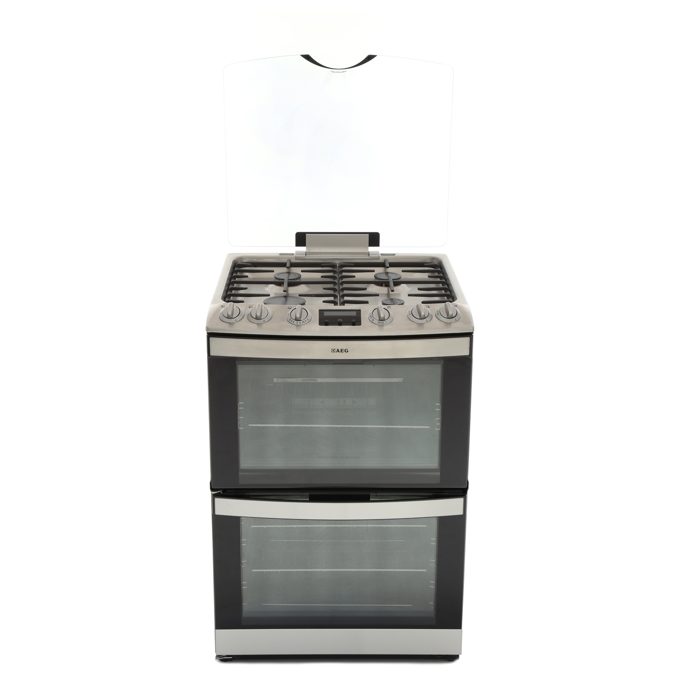AEG 17166GM-MN Gas Cooker with Double Oven