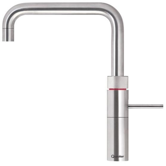 Quooker Combi 2.2 Fusion Square Stainless Steel 3 in 1 Boiling Water Tap