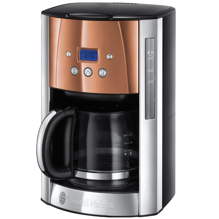 Russell Hobbs 24320 Luna Copper Accents Coffee Machine