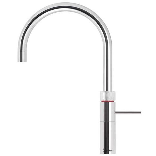 Quooker PRO3 Fusion Round Chrome Boiling Water Mixer Tap