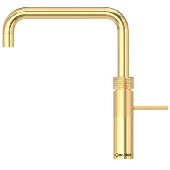 Quooker PRO3 Fusion Square Gold 3 in 1 Boiling Water Tap