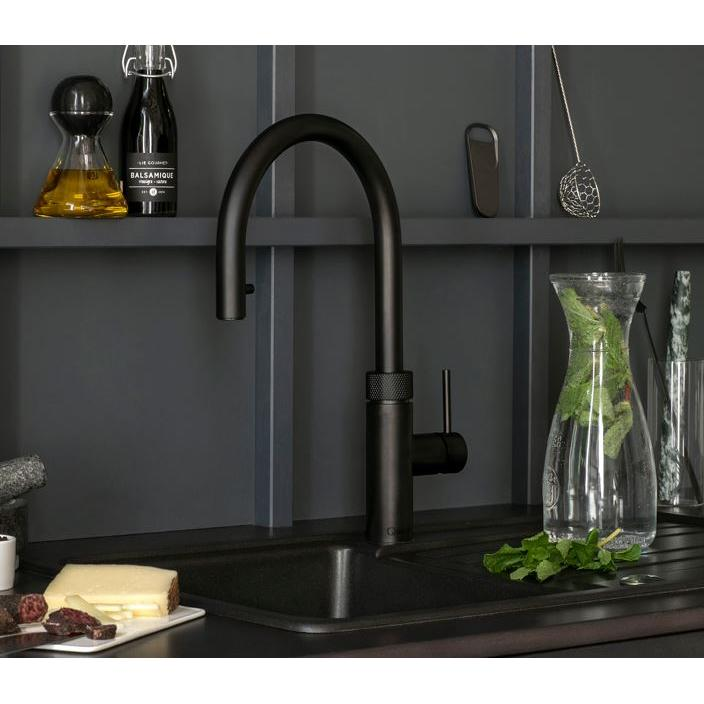 Quooker PRO3 Flex Black 3 in 1 Boiling Water Tap