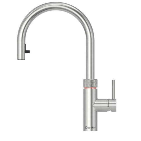Quooker PRO3 Flex Stainless Steel 3 in 1 Boiling Water Tap