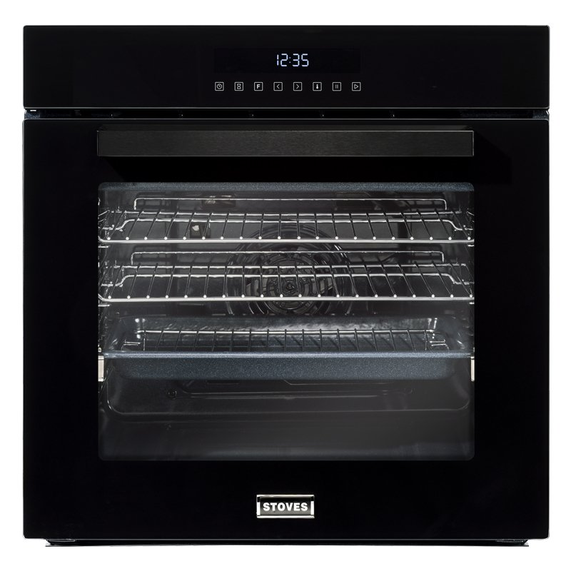 Stoves SEB602TCC Black Single Built In Electric Oven