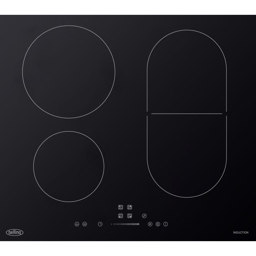 Belling IHL602 Black Induction Hob