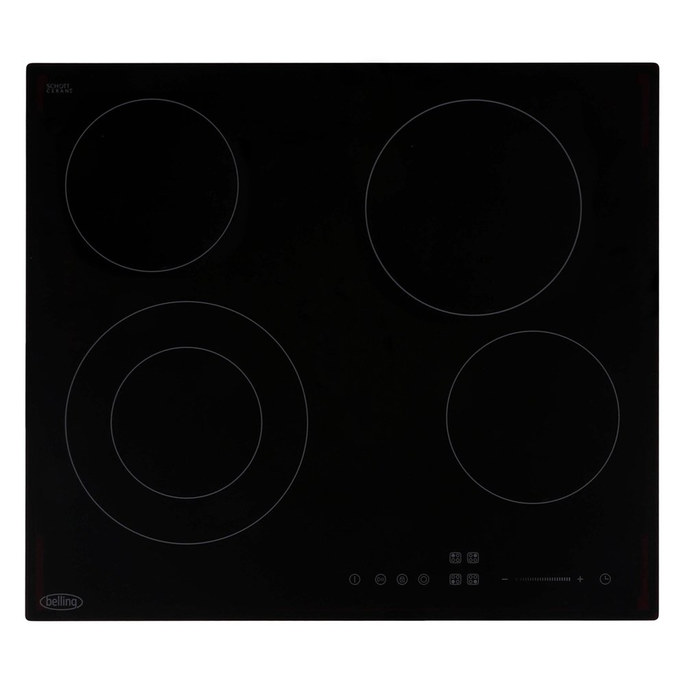 Belling CH602T Black Ceramic Hob