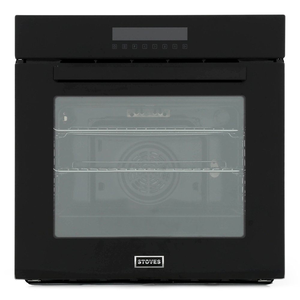 Stoves SEB602MFC Black Single Built In Electric Oven