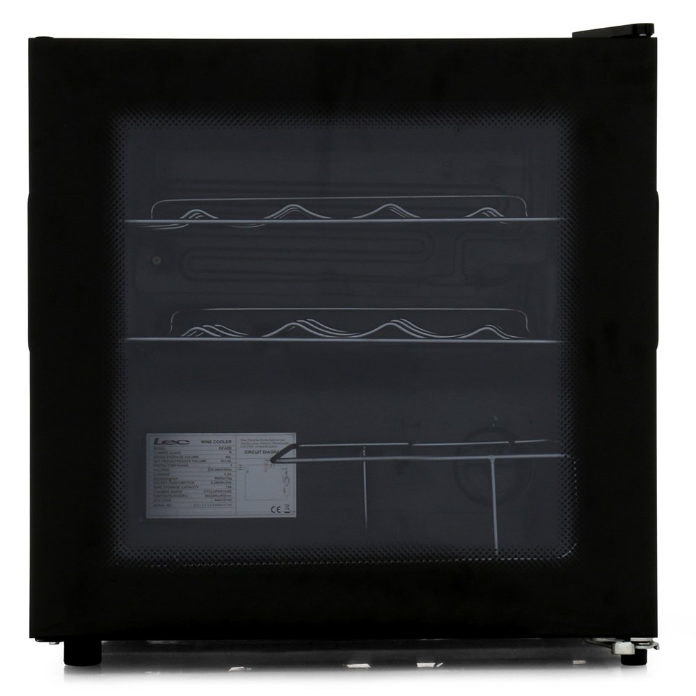 Lec DF48B Black Wine Cooler