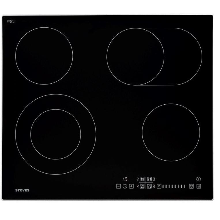 Stoves SEH602SCTC Black Ceramic Hob
