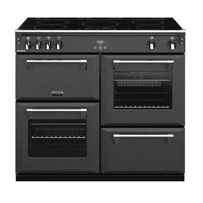 Stoves Richmond  S1000Ei Anthracite 100cm Electric Induction Range Cooker