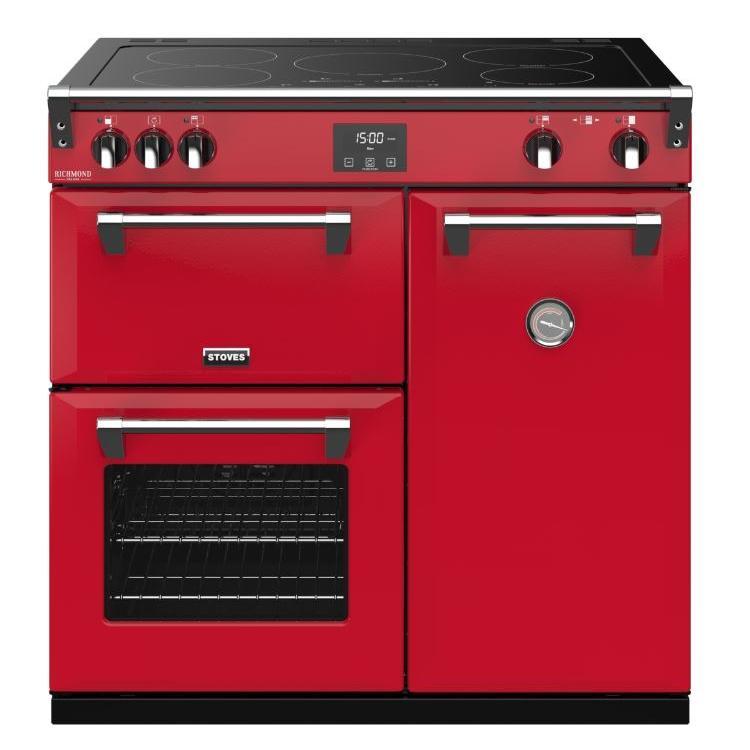 Stoves Richmond DX S900Ei CB Hot Jalapeno 90cm Electric Induction Range Cooker