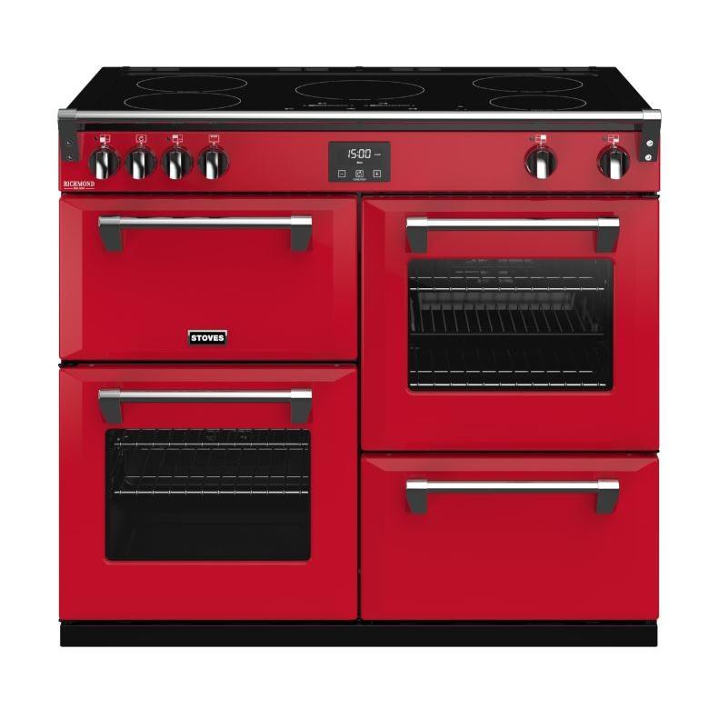 Stoves Richmond DX S1000Ei CB Hot Jalapeno 100cm Electric Induction Range Cooker