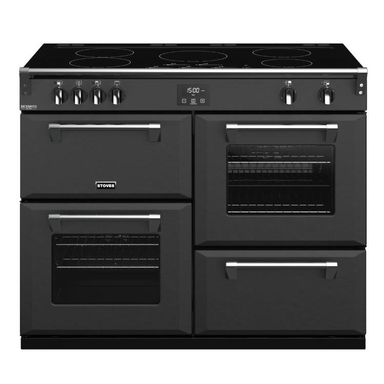 Stoves Richmond DX S1100Ei CB Anthracite 110cm Electric Induction Range Cooker