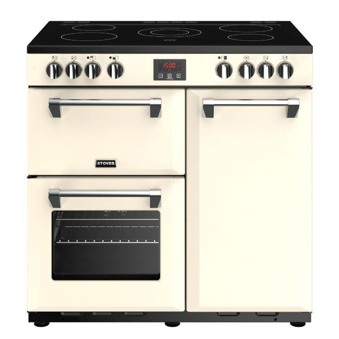 Stoves Belmont 90E Cream 90cm Electric Ceramic Range Cooker