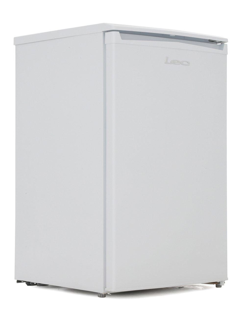 Lec R5017W White Fridge with Ice Box