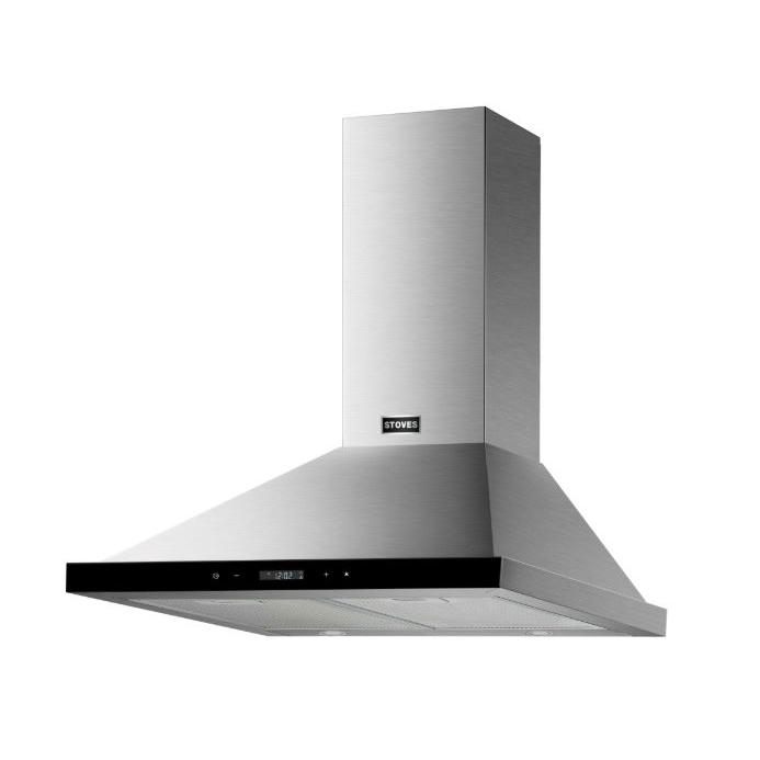 Stoves 600 Stainless Steel 60cm Chimney Hood