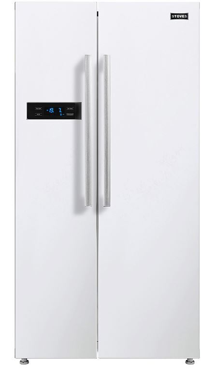 Stoves SXS909 White American Fridge Freezer