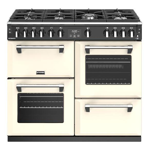 Stoves Richmond S1000G Classic Cream 100cm Gas Range Cooker