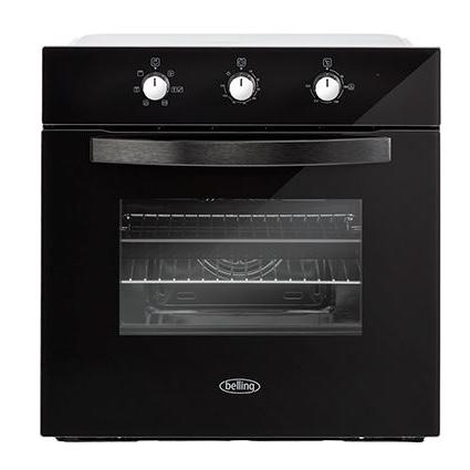 Belling BI602MM Black Single Built In Electric Oven