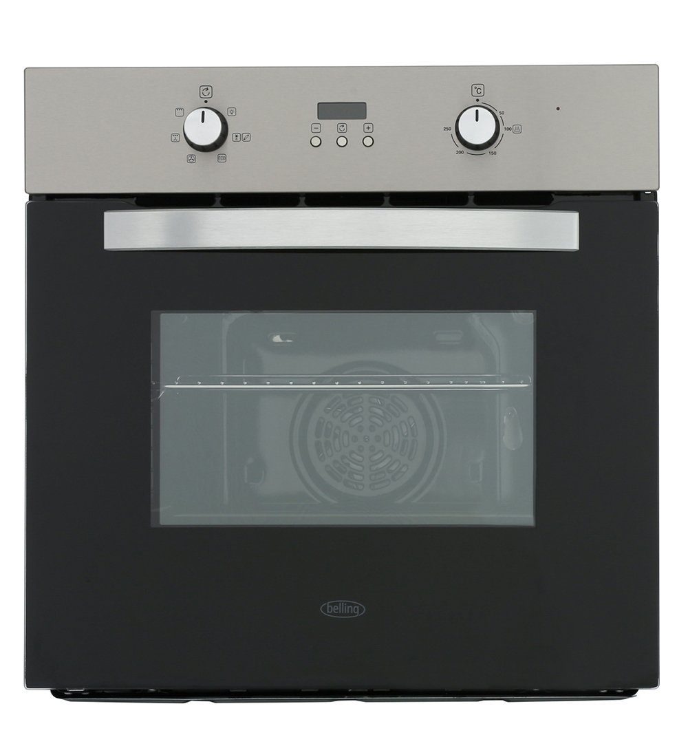 Belling BI602F Stainless Steel Single Built In Electric Oven