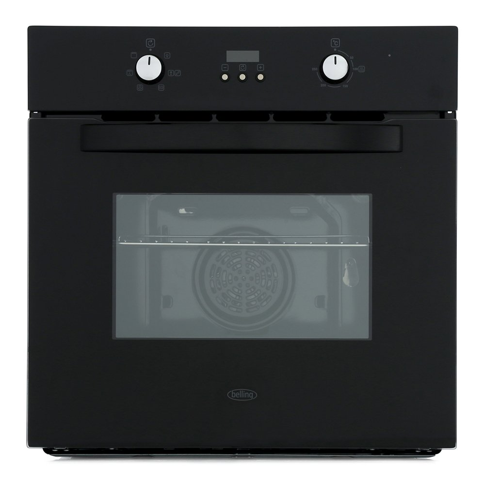 Belling BI602F Black Single Built In Electric Oven
