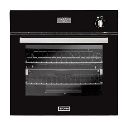 Stoves BI600G Black Single Built In Gas Oven
