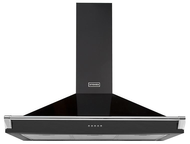 Stoves S900 Richmond 90cm Chimney Hood with Rail