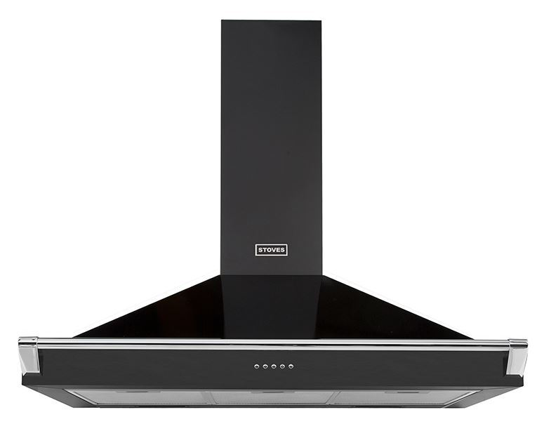 Stoves S1100 Richmond 110cm Chimney Hood with Rail
