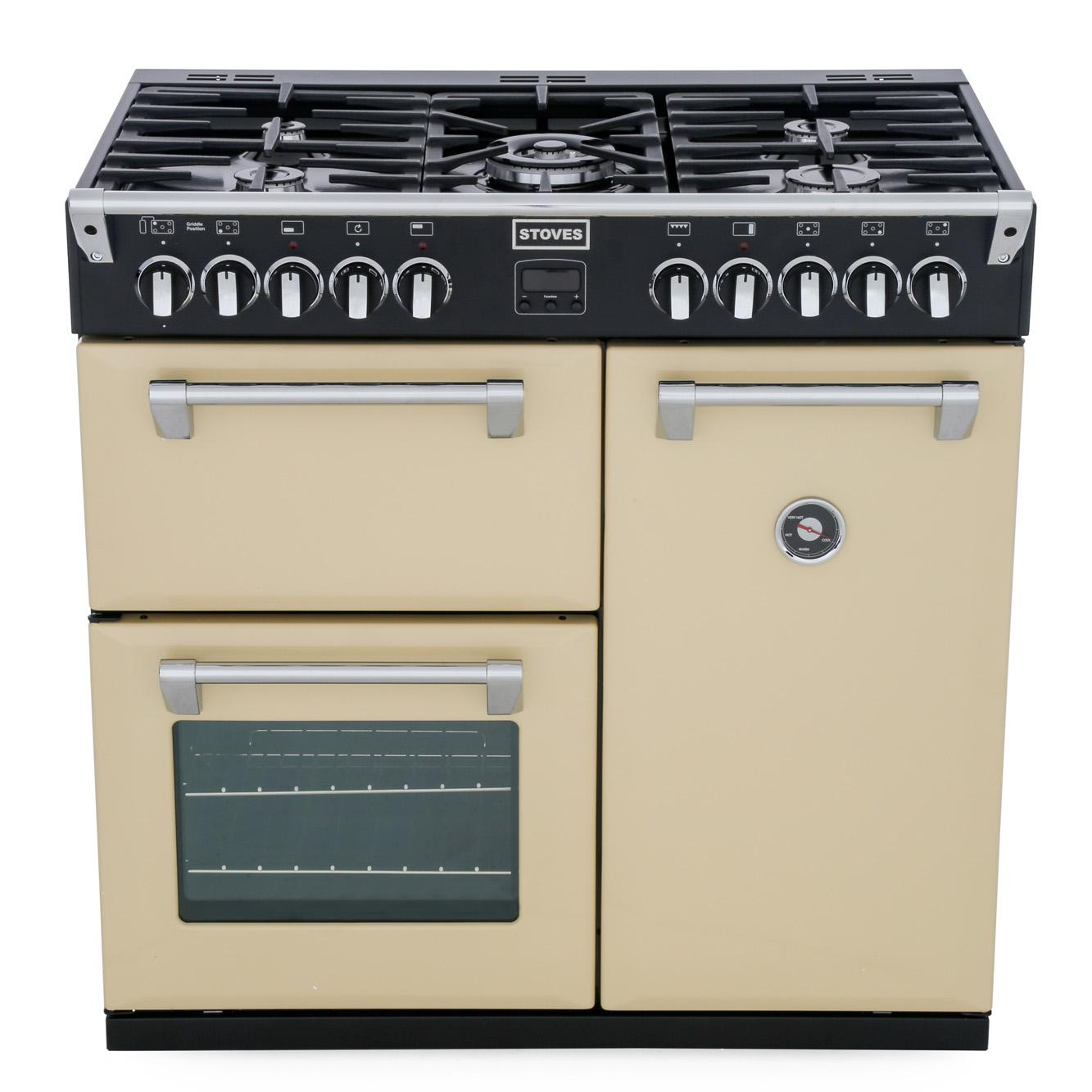 Stoves Richmond 900DFT Champagne 90cm Dual Fuel Range Cooker