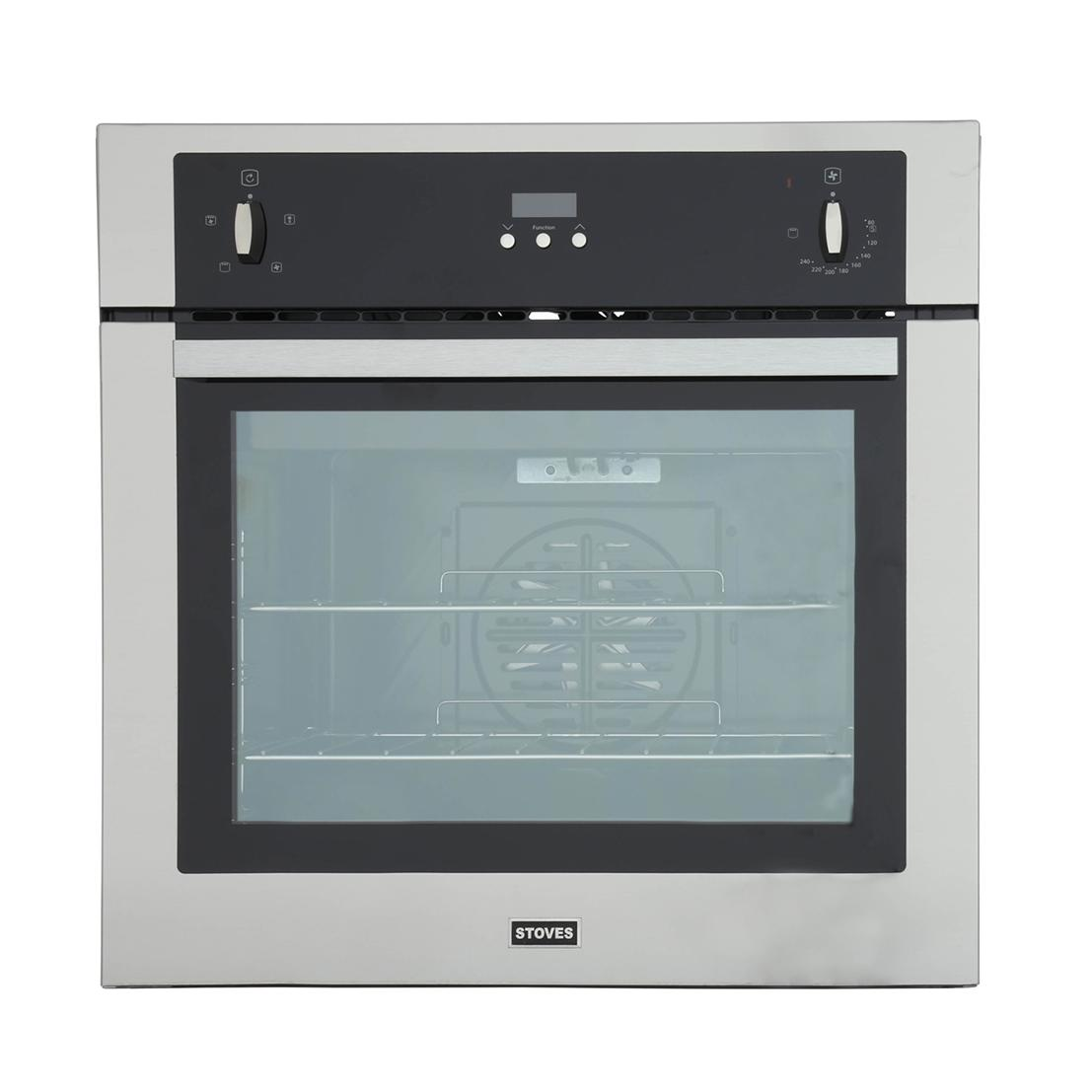 Stoves SEB600FP Stainless Steel Single Built In Electric Oven