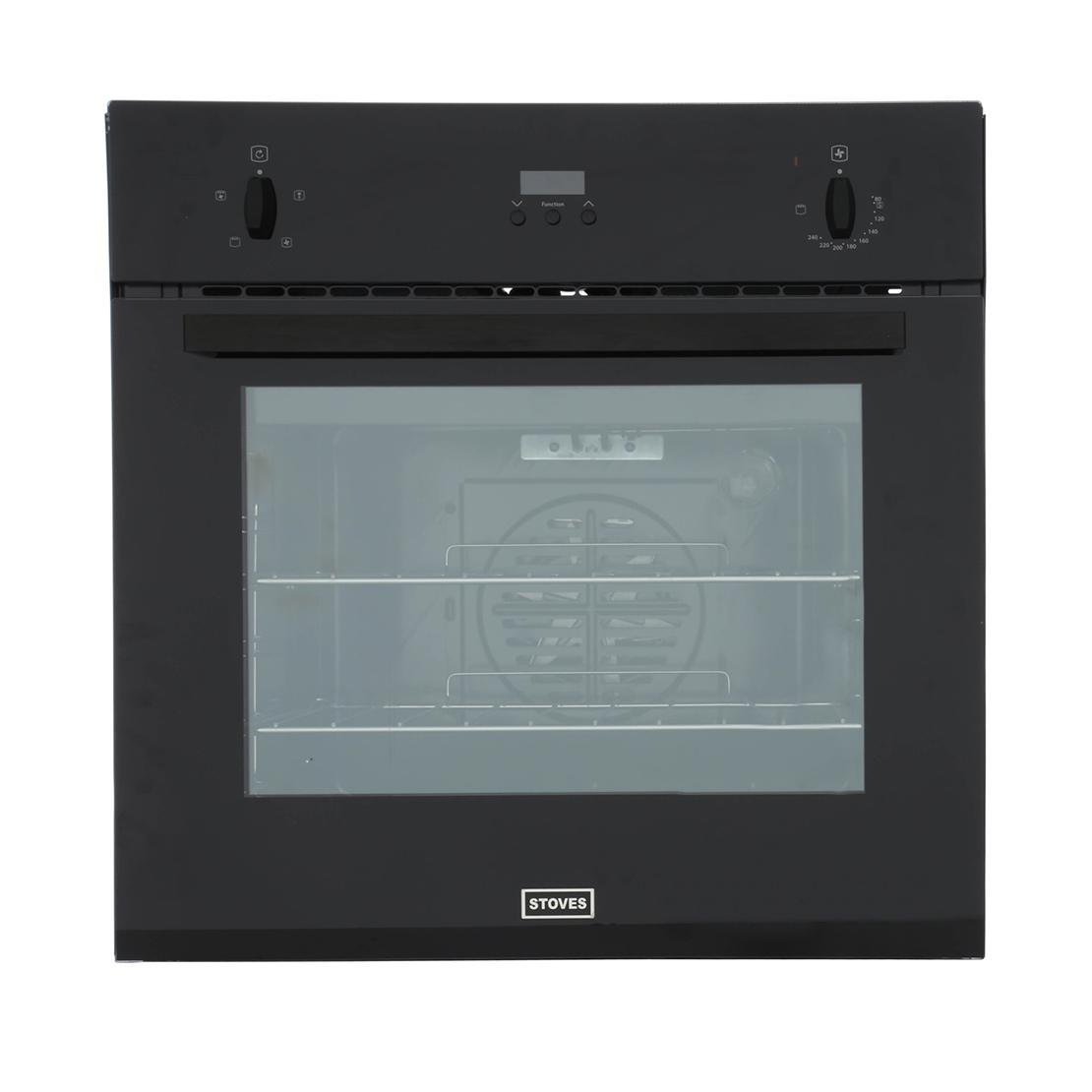 Stoves SEB600FP Black Single Built In Electric Oven