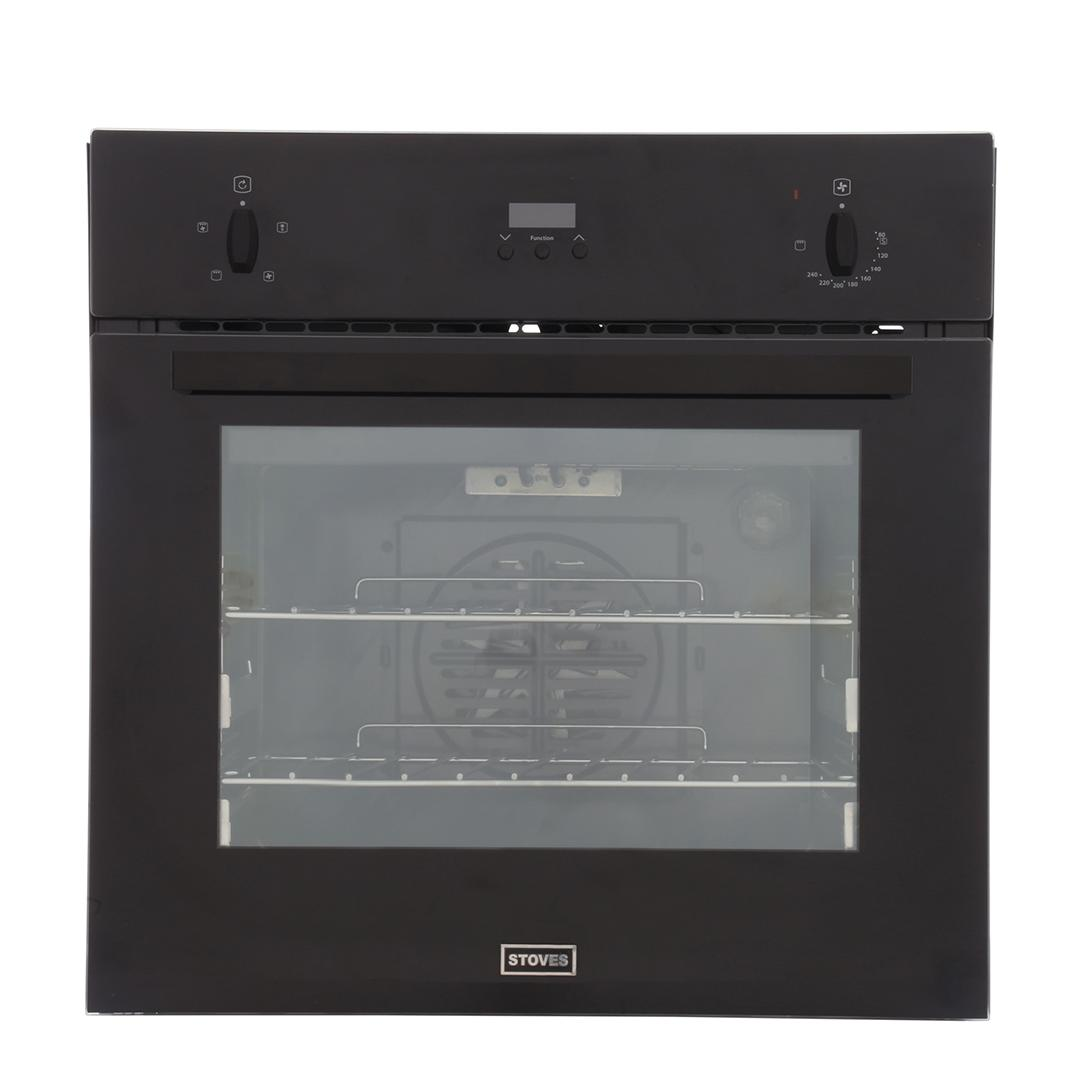 Stoves SEB600FPS Black Single Built In Electric Oven