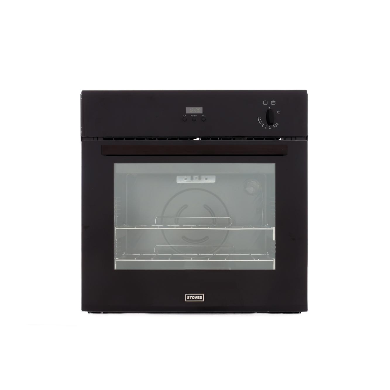 Stoves SGB600PS Black Single Built In Gas Oven