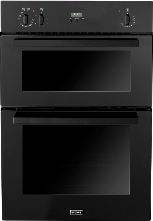 Stoves SEB900FPS Black Double Built In Electric Oven