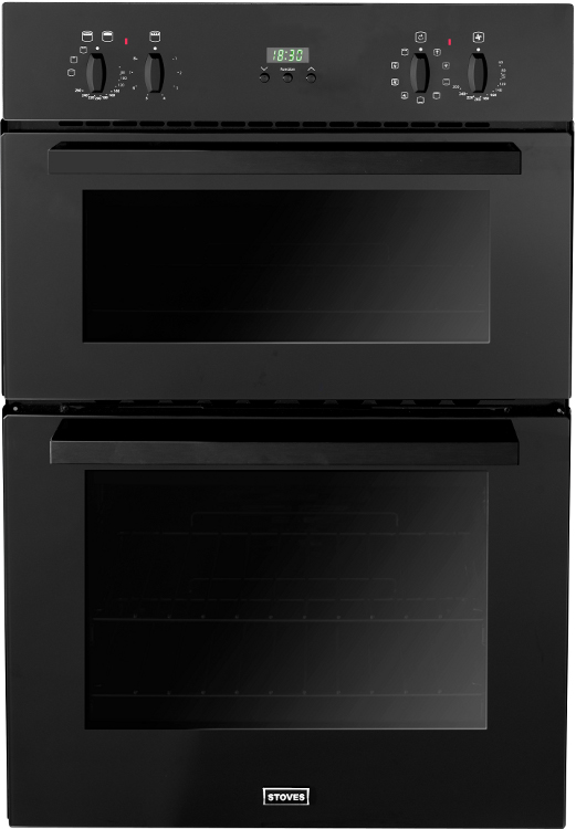 Stoves SEB900MFS Black Double Built In Electric Oven