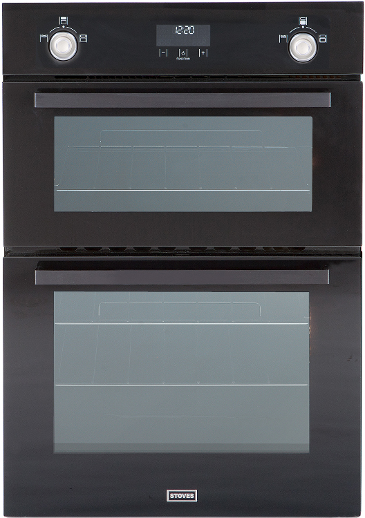 built in gas double ovens