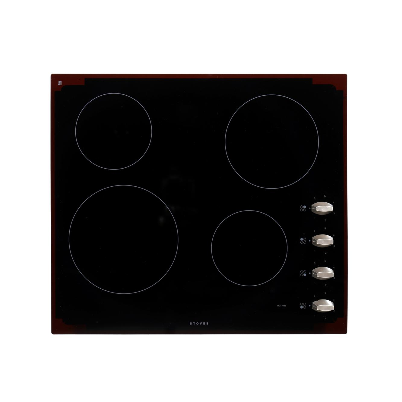 Stoves SEH600CR MK2 Black Ceramic Hob