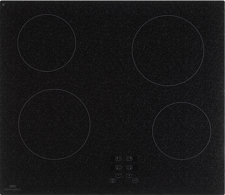 New World NWCT601 Black Ceramic Hob
