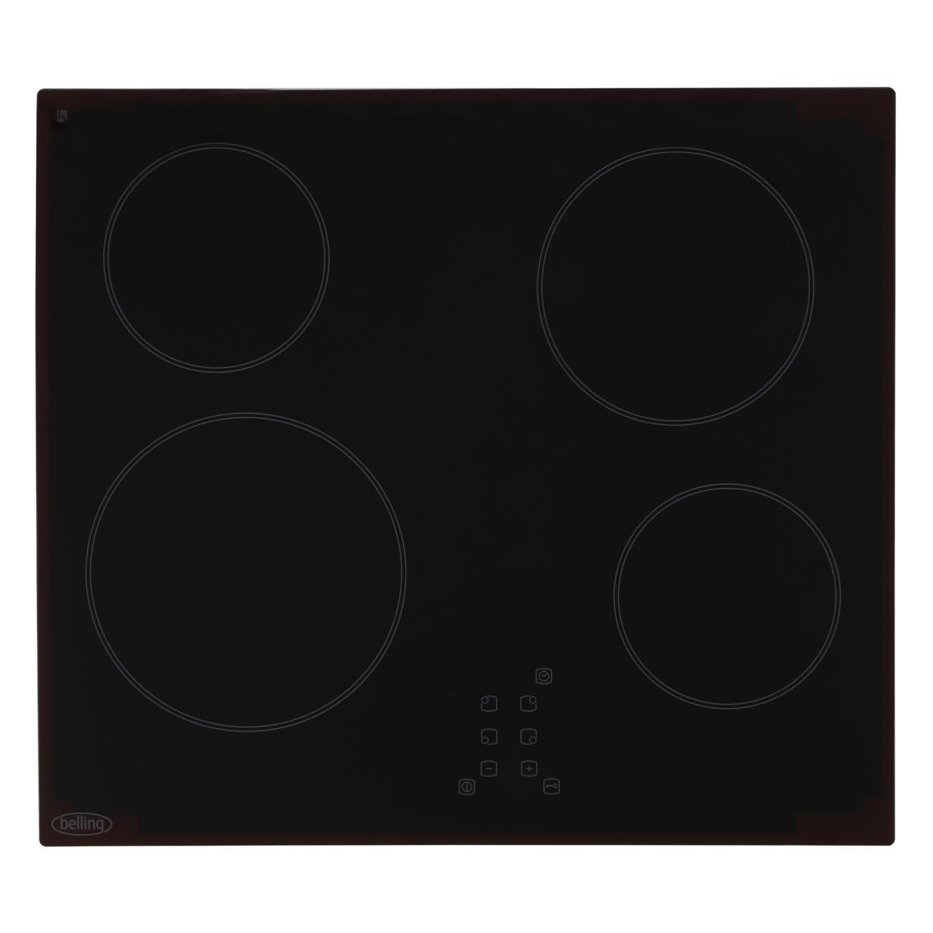 Buy Belling Ch60tx Black Ceramic Hob 444441165