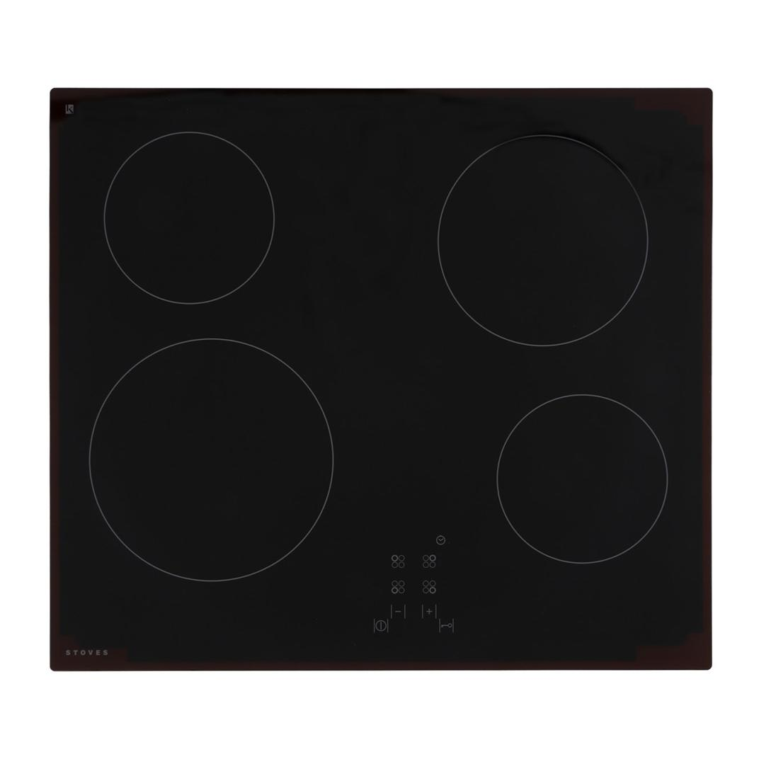 Stoves SEH600CTC MK2 Black Ceramic Hob
