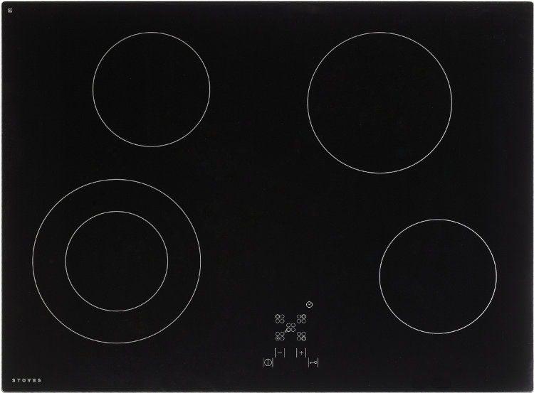 Stoves SEH700CTC MK2 Black Ceramic Hob
