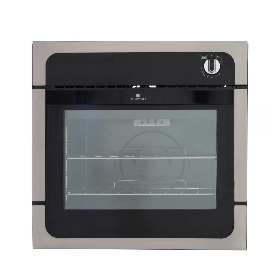 New World NW601G Stainless Steel Single Built In Gas Oven