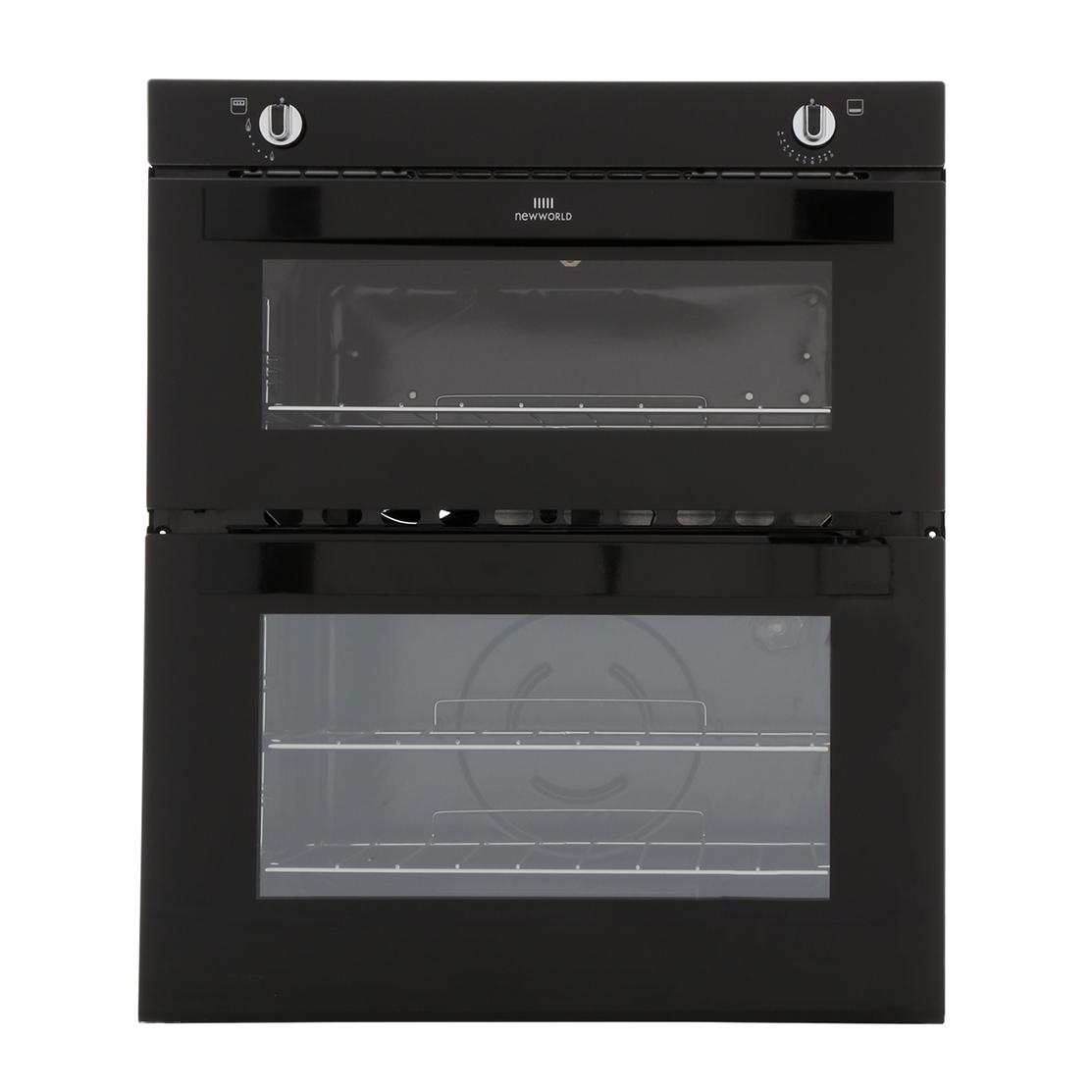 New World NW701G Black Built Under Gas Oven Separate Grill