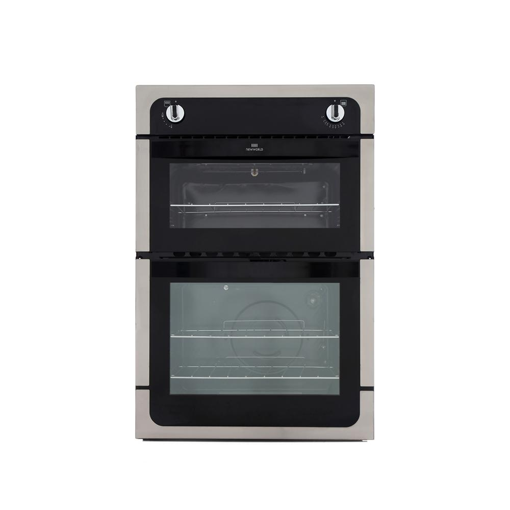 Gas Oven And Grill Part - 44: New World 901G Stainless Steel Built In Gas Oven Separate Grill