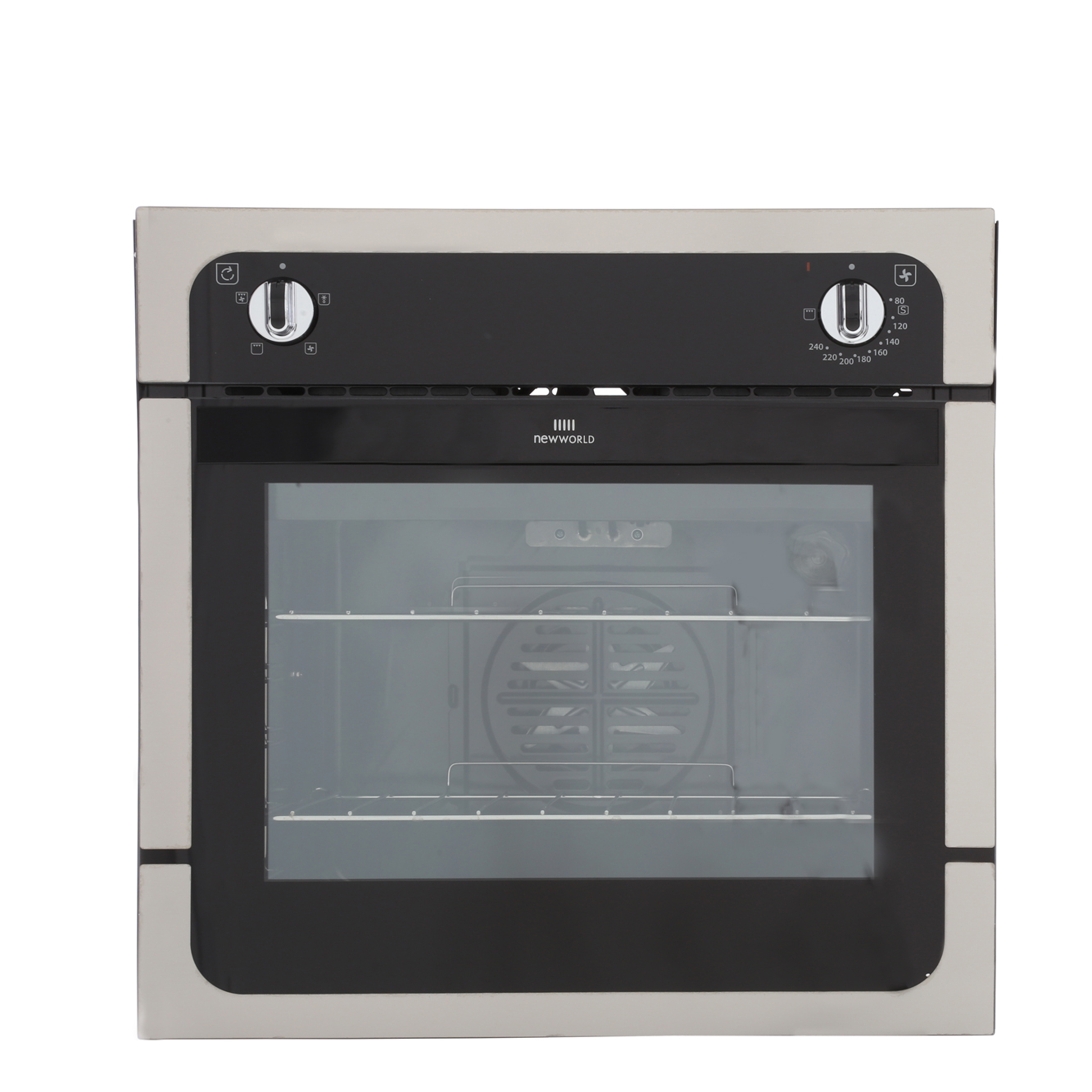 New World NW601F Stainless Steel Single Built In Electric Oven